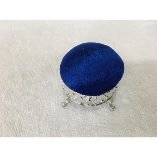 Kadife İğnelik Mavi