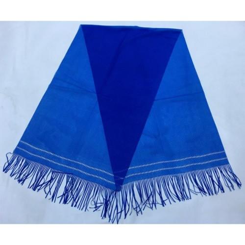Mavi Polyester Şal