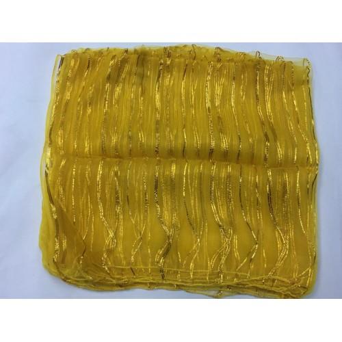 Sarı Şifon Şal